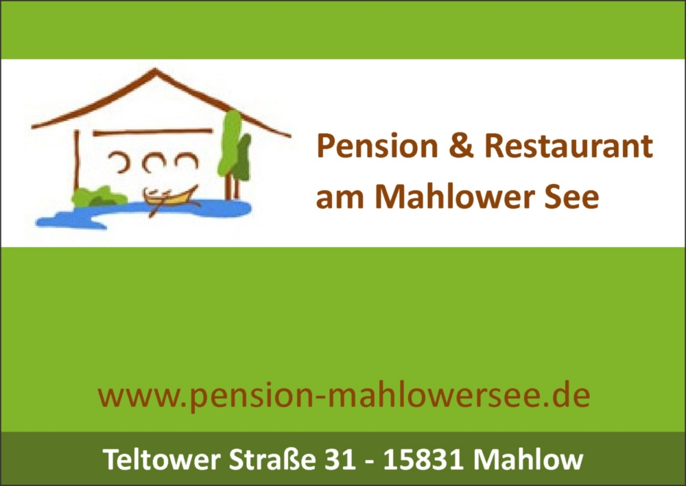Pension Mahlow am See